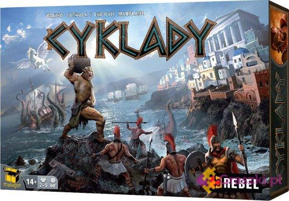 Cyklady (Cyclades) PL | Rebel